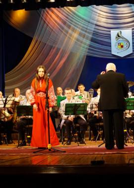 Відбувся звітний концерт духового оркестру