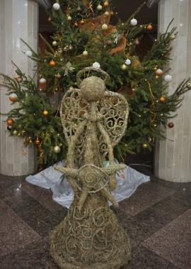 Майстер-клас з виготовлення Різдвяного янгола