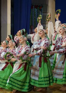"""Творчий звіт народного аматорського ансамблю танцю """"Волинянка"""""""
