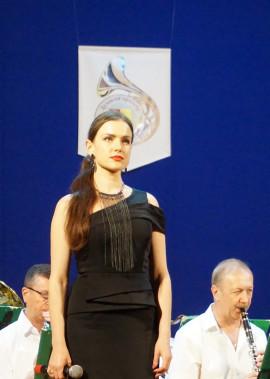творчий звіт народного аматорського духового оркестру до дня Конституції України